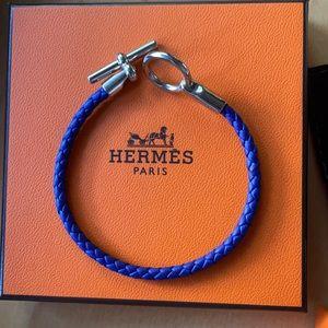 Hermès Glenan bracelet in blue